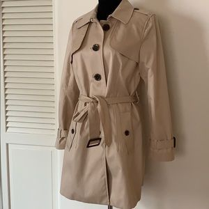 Banana Republic Trench Cost in classic neutral